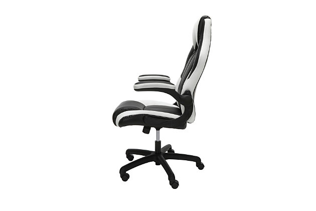 Ofm Essentials Collection High Back Racing Style Bonded Leather Gaming Chair Ashley Furniture Homestore