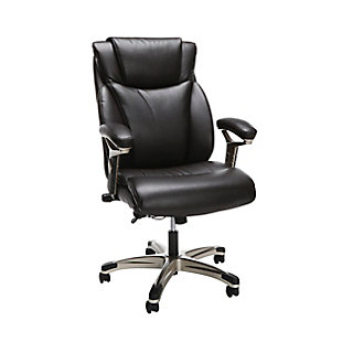 OFM Essentials Series Ergonomic Executive Bonded Leather Office Chair, , large