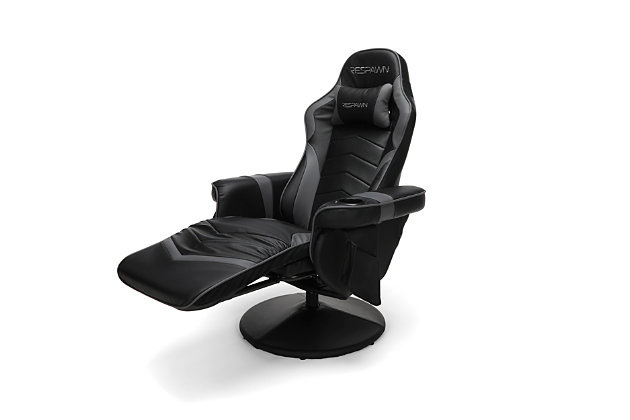 RESPAWN 900 Racing Style Gaming Recliner, Gray, large