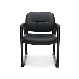 OFM Essentials Collection ESS-9015 Bonded Leather Executive Side Chair, , rollover