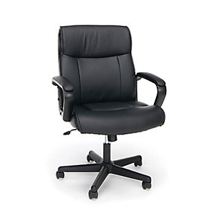 OFM Essentials Collection ESS-6010 Bonded Leather Executive Chair, , large