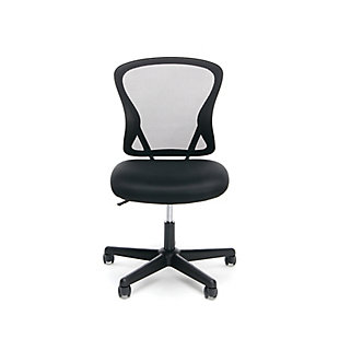 OFM Essentials Collection ESS-3010 Swivel Mesh Back Armless Task Chair, , rollover
