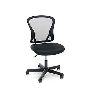 OFM Essentials Collection ESS-3010 Swivel Mesh Back Armless Task Chair, , large
