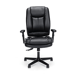 OFM Essentials Collection ESS-6050 Ergonomic High-Back Bonded Leather Executive Chair, , rollover