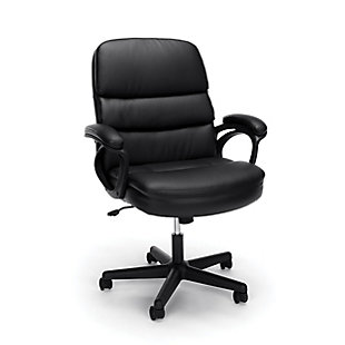 OFM Essentials Collection ESS-6025 Bonded Leather Executive Manager's Chair, , large