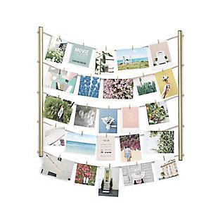 Umbra Hangit Brass Hanging Photo Display, , large