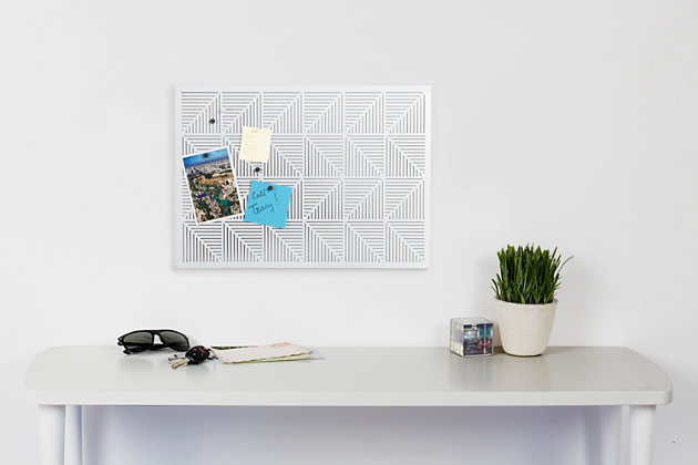 Umbra Trigon Wall-Mounted Bulletin Board, , large