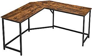 Vasgale L-Shaped Corner Computer Desk, , large