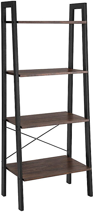 Vasgale 4-Tier Industrial Ladder Rack, , large