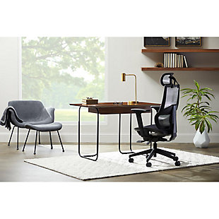 Goodwin Swivel Adjustable Executive Computer Office Chair, , rollover