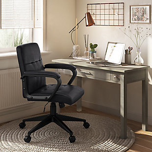 Brewer Swivel Adjustable Executive Computer Office Chair, , rollover
