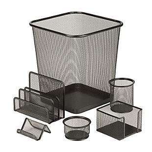 6-Piece Mesh Desk Set, , large