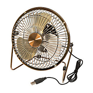 6-Inch USB-Powered Portable Desk Fan, , large