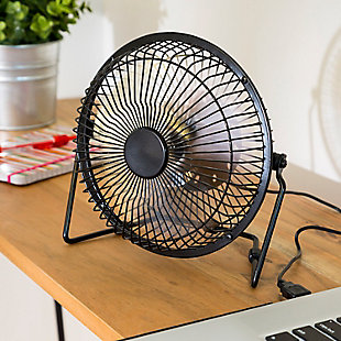 6-Inch USB-Powered Portable Desk Fan, , rollover