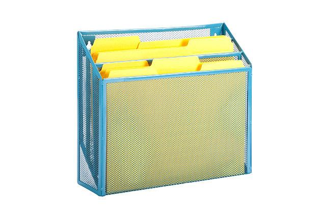 Mesh Vertical File Sorter, , large