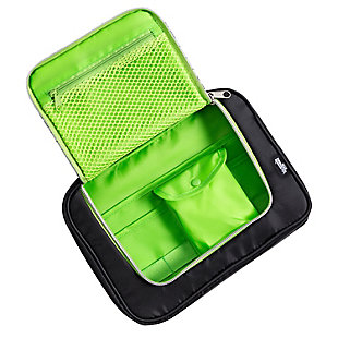 Compact 9-Pocket Tech & Phone Accessories Organizer, , large