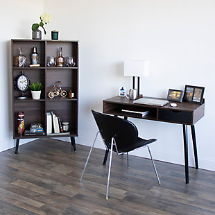 Storage Bookcase with Adjustable Shelving, , rollover