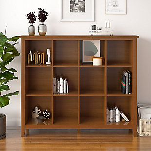 """Artisan Solid Wood 48"""" Contemporary 12 Cube Storage, , rollover"""