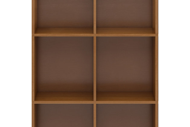 """Artisan Solid Wood 48"""" Contemporary 12 Cube Storage, , large"""