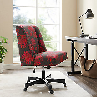 Draper Office Chair, Red, rollover