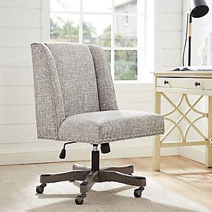 Draper Office Chair, Gray, rollover