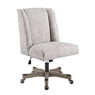 Draper Office Chair, Gray, large