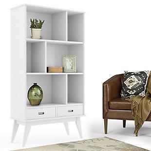 """Draper 64"""" Wide Bookcase and Storage Unit, , rollover"""