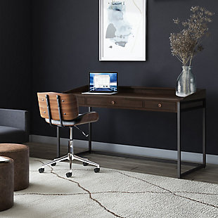 """Ralston 60"""" Wide Writing Office Desk, , rollover"""