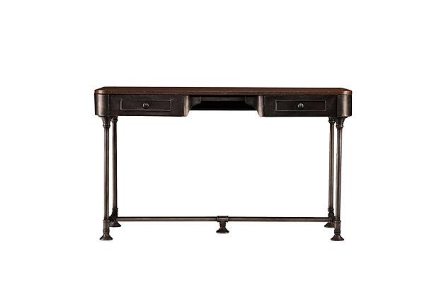 Laney Industrial 2-Drawer Desk, , large