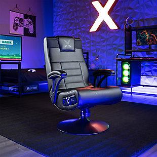 X Rocker Covert 2.1 Wireless Audio Pedestal Chair, , rollover