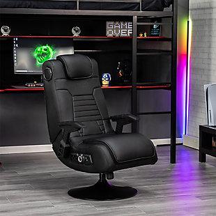 X Rocker Pro Series+ Pedestal 2.1 Dual Audio Video Gaming Chair, , large
