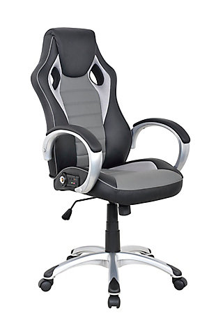 X Rocker Rogue Sound Office Chair, , large