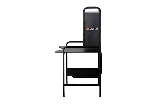 X Rocker Icarus Self-Contained Steel Gaming Desk, , large