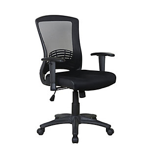 Ergonomic Mesh Adjustable Height Office Chair, , large