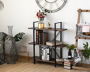 Whittier 3-Shelf Etagere Bookcase, , rollover