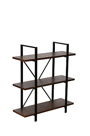 Whittier 3-Shelf Etagere Bookcase, , large