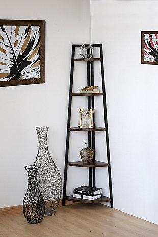 Nicolai Corner Bookcase, , rollover