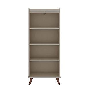 Hampton 4-Tier Bookcase, , large