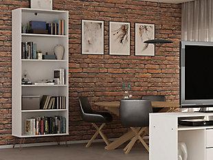 Rockefeller Bookcase 3.0, White, rollover