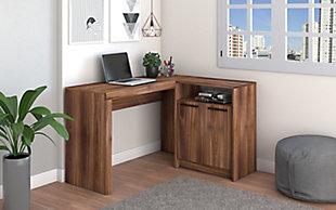 Kalmar L -Shaped Office Desk, , rollover