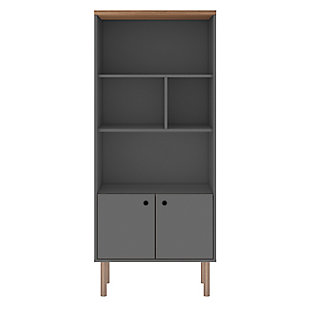 Windsor Display Bookcase Cabinet, , large