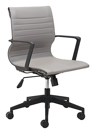 Stacy Gray Office Chair, , rollover