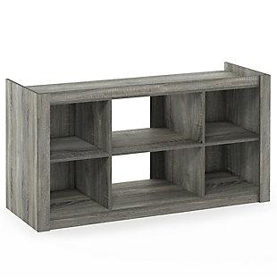 Furinno Fowler Multipurpose Multipurpose TV Stand Bookshelves, , large