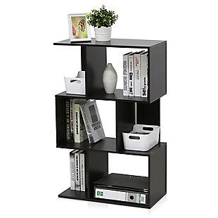 Furinno Simply Modern Open 3-Tier Open Book Shelf, , rollover