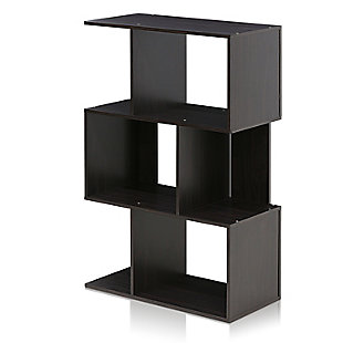 Furinno Simply Modern Open 3-Tier Open Book Shelf, , large