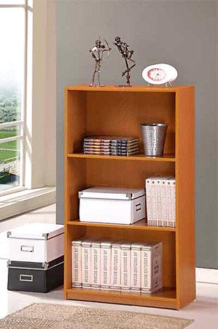 Furinno Basic 3-Tier Bookcase Storage Shelves, , rollover