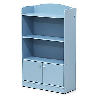 Furinno Lova Bookshelf with Storage Cabinet, , large
