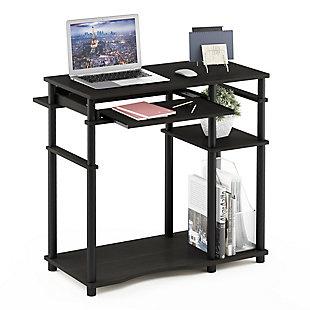 Furinno Abbott Computer Desk with Bookshelf, , rollover