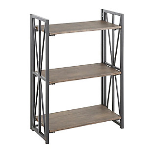 Indy Industrial Bookcase, , large