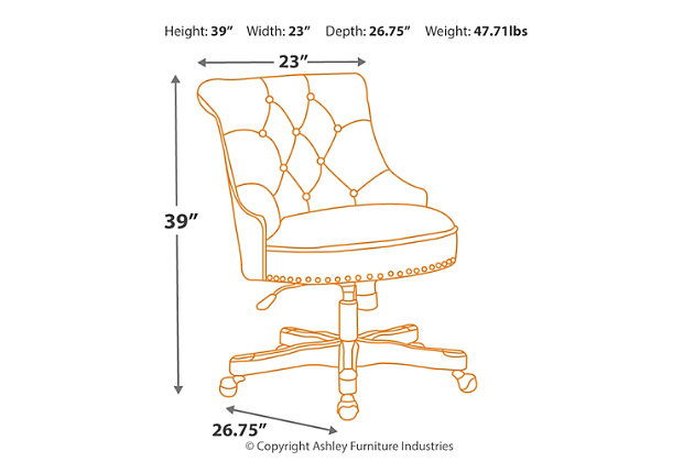 Sinclair Office Chair, , large